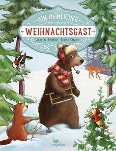 Zeit für schöne Weihnachtsbücher! Der Bär kommt neu in den Wald und möchte zum ersten Mal Weihnachten feiern – doch die anderen Bewohner haben Angst vor ihm. Bilderbuch Rezension von @julilie…
