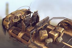 ArtStation - Transport vehicle, Tor Frick