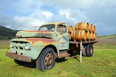 Sanford Winery Rancho La Rinconada Truck - Sanford Winery: The Role of Barrels in Chardonnay and Pinot Noir Country