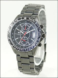 SALVATOREMARRAサルバトーレマーラ腕時計SM10102-IPBKメンズクロノグラフ