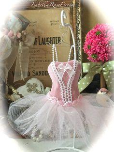 Ballerina dress paper Mache Doll Art Dress von IsabellaRoseDream