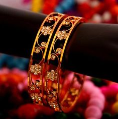 Find wide range of fashion jewellery, imitation, bridal, artificial, beaded and antique jewellery online. Buy imitation jewellery online from designers across India. Call us on [phone] now to resolve your queries. Gold Bangles Design, Gold Jewellery Design, Jewelery, Silver Jewelry, Silver Earrings, Antique Jewellery Online, Gold Armband, Diamond Bangle, Diamond Jewelry
