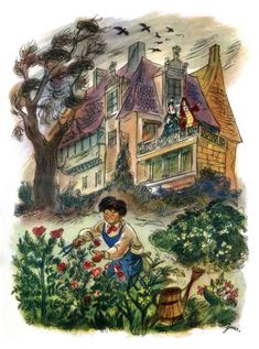 Items similar to Vintage Book Illustration The Princess and the Pea Page Print Plate Paper Ephemera Fairy Tale Old Victorian Antique collectibles Andersen on Etsy Children's Book Illustration, Book Illustrations, Andersen's Fairy Tales, Princess And The Pea, Vintage Fairies, Hans Christian, Vintage Children's Books, Childrens Books, Illustrators