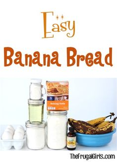 Best Banana Bread Recipe! ~ from TheFrugalGirls.com ~ your family will go bananas for this Easy and Delicious breakfast treat! #recipes #thefrugalgirls