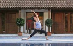 Third trimester yoga - best video I've found! Lara Dutta Prenatal Yoga Video