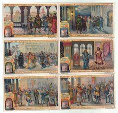 Le Cid Opera Jules Massenet Oper Opera Lithographie lithograph Liebig | eBay