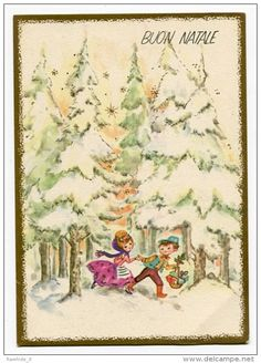 104 Best People Cards Vintage Images On Pinterest Christmas