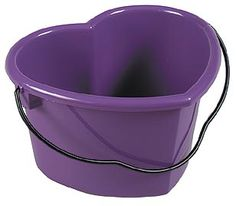 Winner's Circle Horse Supplies, Saddlebred and Gaited Horse Specialists - Heart Shaped Pail