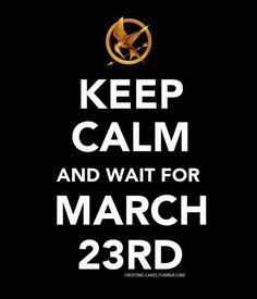 May the odds be in your favor on March 23rd