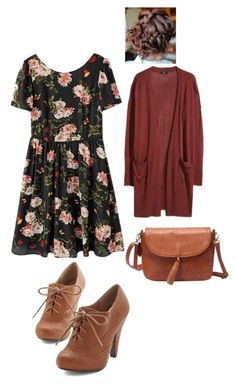 """""""Teen Wolf- Lydia Martin Inspired Outfit"""" by lili-c ❤ liked on Polyvore featuring H&M"""