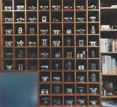 Great way to display a camera collection!