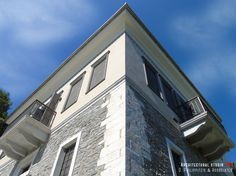 Details of a residential mansion _ renovation Stone Mansion, Bedroom Lighting, Minimalism, Swimming Pools, Greece, Restoration, Construction, Traditional, Mansions