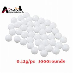 0.12g 6mm BB Strikeball Palla Sciopero 1000 pz Airsoft Paintball Tactical Caccia CS Giochi di Tiro Dei Branelli della Sfera