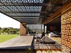 CEILING FOR OUTDOOR ROOM Blairgowrie Back Beach / Wolveridge Architects – Plataforma Arquitectura