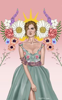 """Lady of the Spring Court""""This popped into my head when Ianthe and Tamlin tried to idealize Feyre. Turn her into an icon of peace when she so obviously is not. ""They don't want or need your help. Your presence is a distraction and a reminder of what..."
