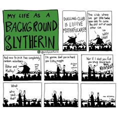Emily's Cartoons - Background Slytherin Part I The story so far! More...