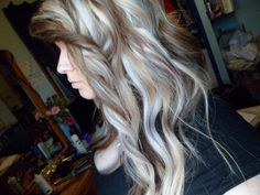 <3 love the warm brown and cool blonde