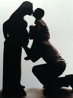 Love this idea for a maternity pic. The shadow concept is profound.