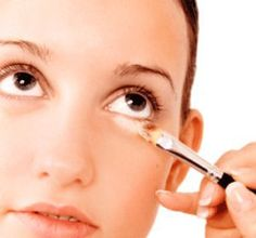 Here is a great tip for Dark Circles or Deep Set Eyes. Instead of using concealer under your eyes, try applying Arbonne's Sheer Glow Highlighter just below the lash line and brush down towards your cheekbone. The highlighter will blend with your foundation and create brightness around your eyes. A great way to eliminate darkness