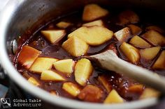 ginger peach barbecue sauce ginger peach barbecue sauce makes 2 1 2 ...