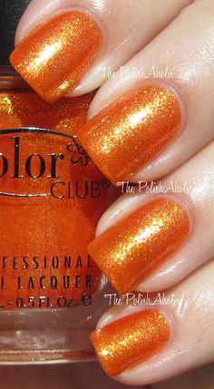 Color Club Summer 2012 Take Wing Collection Swatches!