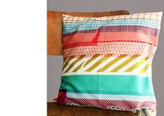 a collection perfect for washi tape lovers ... I know many of you really like everything masking tape ... so how about the new collection from mrs. eliot books ... I rather like it :) ! The cushion above is...
