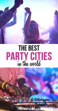 The Best Party Cities In The World. After months of limited or no travel, these party cities around the world look to be the perfect place to celebrate. It doesn't matter what you're celebrating… More Travel Articles, Travel Advice, Travel Guides, Travel Tips, Usa Travel, Luxury Travel, Festivals Around The World, Travel Around The World, Lisbon Nightlife