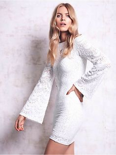 Free People Priscilla Lace Dress, $199.95