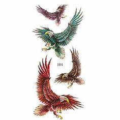 HJLWST 16 Patterns Flower Eagle Animal Waterproof Body Art Tattoo Temporary Tattoo Sticker(24cm9.5cm) , 15#. Tattoo sticker use green ink and glue, is harmless to human body. Paste the successful design with waterproof and sweat-proof function, will not fall off in the shower, but do not rinse with hot water for too long, should not be rubbed with. Different parts of the pattern paste, duration of different patterned after 3-5 days began to fall under normal usage conditions, feet and…