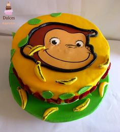 Torta Jorge El Curioso #TortaJorgeElCurioso #TortaGeorgeElCurioso #TortasDecoradas