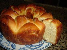 Fernanda   1 xicara de leite 50 gramas de fermento pra pão 4 colheres de sopa de açucar 3 colheres de sopa de óleo 1 pitada de sal 3 gemas...