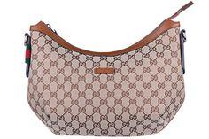 Gucci women's shoulder bag original gg supreme beige