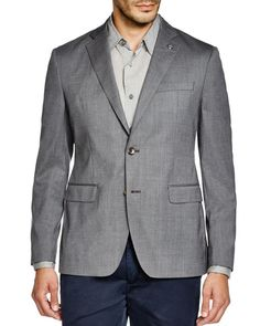 Michael Kors Trop Wool Regular Fit Blazer