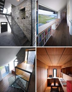 refab stone wood rooms
