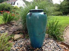 Jade Handled Urn Fountain