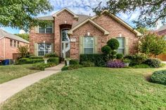 Home for sale in Frisco, TX with a great park view!