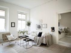 Home in a natural palette - via Coco lapine Design blog