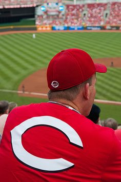 Cincinnati Reds Baseball Fan