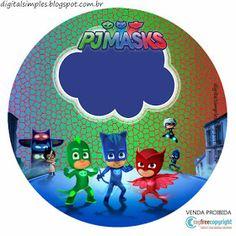Kit Imprimible GRATIS PJ Masks