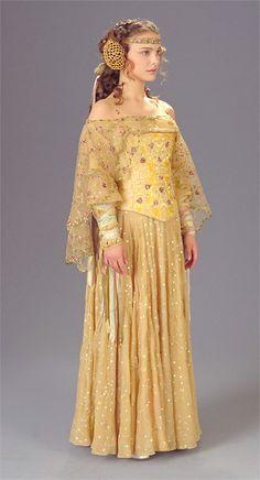 natalie portman's star swars queen amidala costume.  looks totally like ozma of oz!