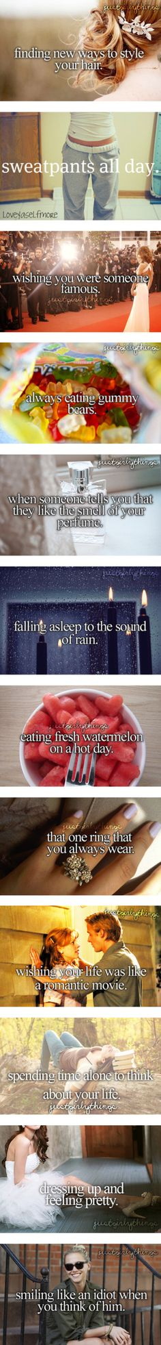 """Just the Girly Things"" by smileforflowers ❤ liked on Polyvore. True but I don't have a ring I always wear"