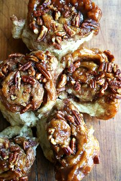 Cinnamon Rolls — Artisan Bread in Five Minutes A Day Style by alexandraskitchen as adapted from Artisan Bread in Five Minutes A Day by Jeff Hertzberg and Zoë François: No kneading!
