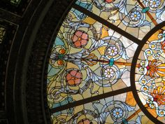 Healy + Millet Stained Glass Dome