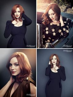 Christina Hendricks - The Hollywood Reporter by Joe Pugliese, 2012
