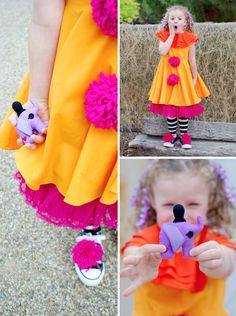 Love this Peanut Lalaloopsy Costume perfect for Halloween  #lalaloopsy