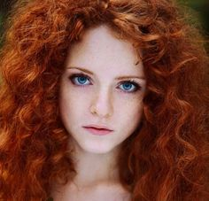 """redheadmuse: """" I would really love to know who this model is. I've found the photographer and some more pictures, but if anyone has a name, please message me. """" Olga Kozlova by Igor Vavilov"""