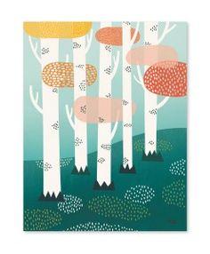 Forest plakat af michelle carlslund