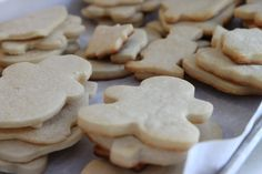 Love this method for cutout cookies.  Came out great!