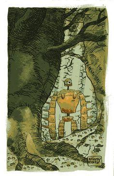 Laputa fan art by Thierry Martin Hayao Miyazaki, Totoro, Art Studio Ghibli, Illustrations, Illustration Art, Castle In The Sky, Ghibli Movies, Fan Art, Animation Film