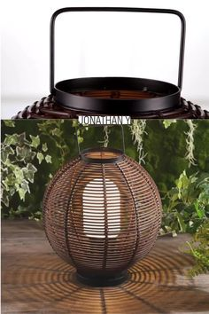 Use our modern take on a Southeast-Asian bamboo lantern indoors, or outside on a covered porch. Wicker-woven plastic covers a sturdy metal frame, and the bulb is protected by an ivory plastic cover. The dark brown woven pattern creates moody accent lighting. #JonathanY #HomeDeco Indian Home Decor, Fall Home Decor, Home Decor Trends, Home Decor Styles, Home Decor Accessories, Decor Ideas, Cheap Rustic Decor, Cheap Home Decor, Home Interior
